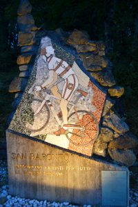 San Baronto Monumento ai ciclisti