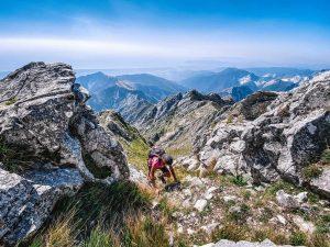 Salita sul Monte Altissimo